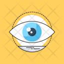 Vision Observation Eye Icon