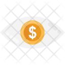 Vision Dollar Coin Icon