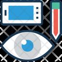 Vision Visual Mobile Icon