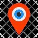 Visit Place Location Icon