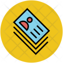 Visiting Cards Id Icon