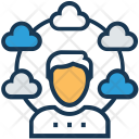 Visitor Cloud User Icon