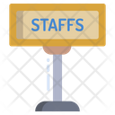 Visitor Security Check Staff Employee Icon