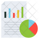 Visual Data Businessplan Analytics Icon