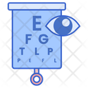 Visual Test Eye Test Vision Test Icon