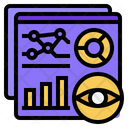 Visualization Graph Report Icon