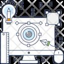 Visualization Creative Design Online Design Icon