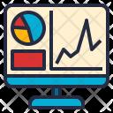 Visualization Computer Graph Icon