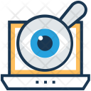 Visualization Magnifier View Icon