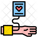 Vital Sign Pulse Monitor Icon