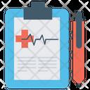 Vitals Sheet Vital Status Pulse Rate Icon