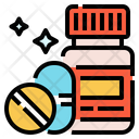 Supplements Vitamins Pill Icon