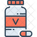 Vitamin Multivitamin Capsule Icon