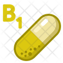 Icon Vitamin B Medicne Health Icon