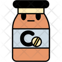 Vitamin C Vitamin Treatment Icon