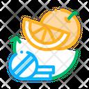 Vitamin C Supplements Icon
