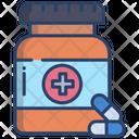 Vitamin Capsules Vitamin Medicine Icon