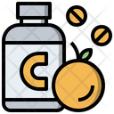 Vitamin Supplement Pill Icon