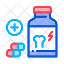 Vitamin Strengthening Bones Icon