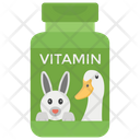 Vitamins Protein Supplement Icon