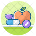 Vitamins Supplements Nutrients Icon