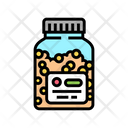 Vitamins Homeopathy Bottle Icon
