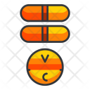 Vitamins Fitness Pill Icon