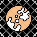 Vitiligo Skin Disease Icon