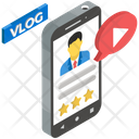 Video Blog Online Channel Social Media Icon