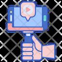 Vlog Video Video Shooting Icon