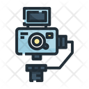 Vlog Video Camera Icon