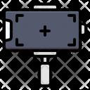 Vlog Record Clip Icon