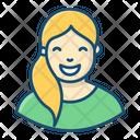 Video Blogger Blogging Video Streamer Icon