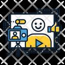 Vlogger Icon
