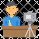 Streaming Camrera Online Icon