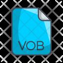 Vob Video File Icon
