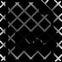 Vob Format Document Icon