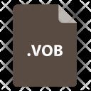 Vob File Format Icon