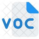 Voc File Icon