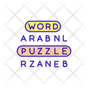 Vocabulary Game Word Icon