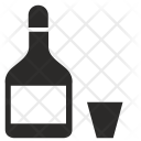 Vodka Alcohol Drink Icon