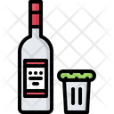 Vodka Glass Cucumber Icon