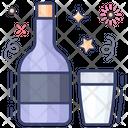 Vodka Wine Alcoholic Beverage Icon