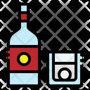 Vodka Alcohol Beverage Icon