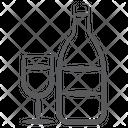 Drink Wine Alcoholic Beverage Icon