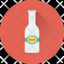 Bottle Vodka Beer Icon