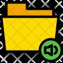 Voice Sound Folder Icon