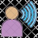 Voice Sound Speaker Icon