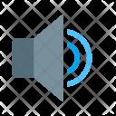 Voice Sound Volume Icon