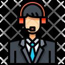 Voice Actor Dubbing Artist Communicator Icon